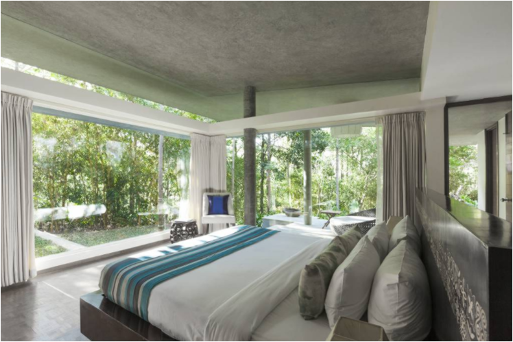 Java Rain Resorts room
