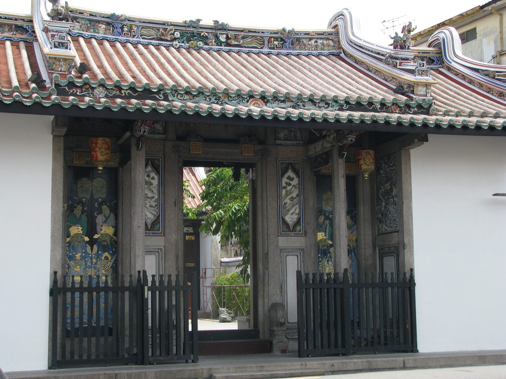 Han Jiang Ancestral Temple, one of the best places to visit in Penang.