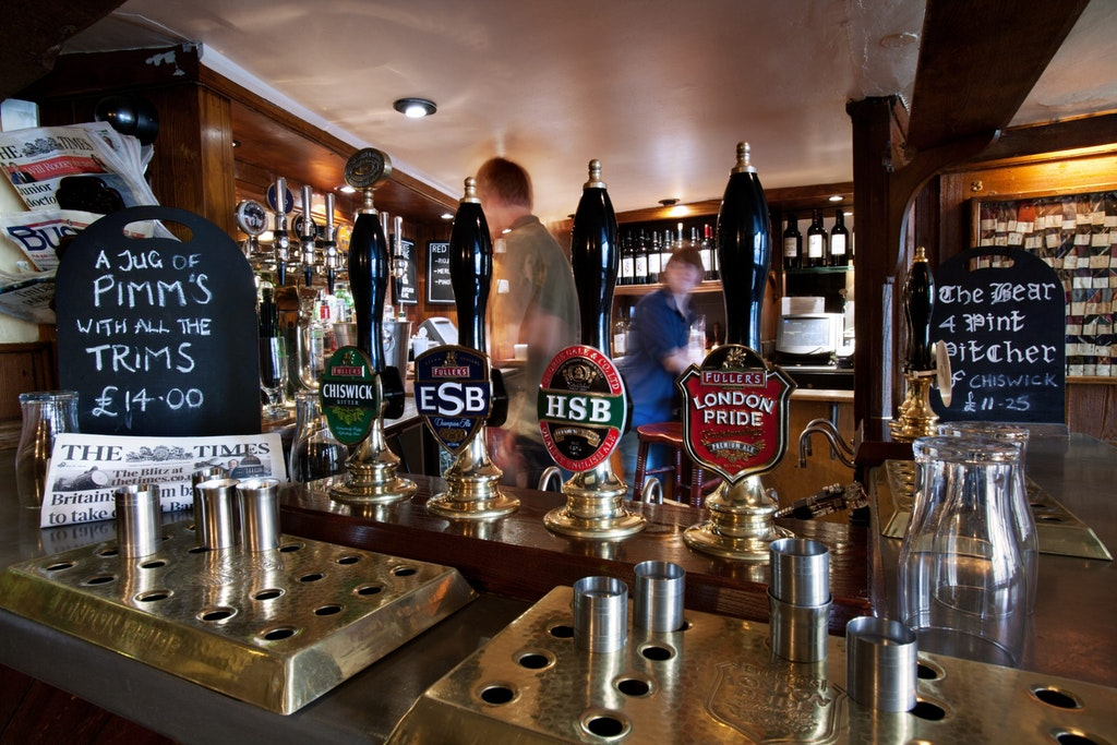 The Bear inn, Oxford.