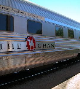 The Ghan Train Tour