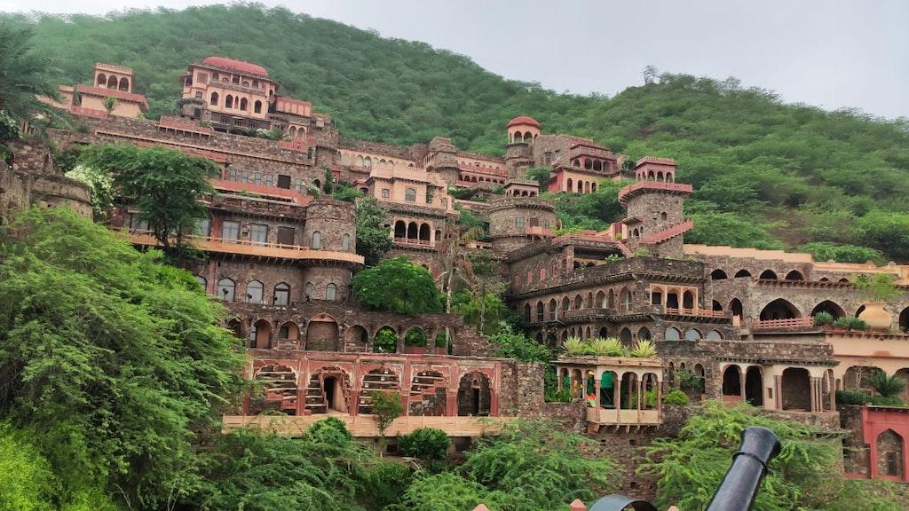 massive architecture of the property