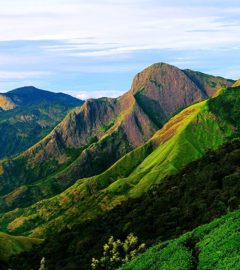 Top Station Trekking in Munnar. Kerala