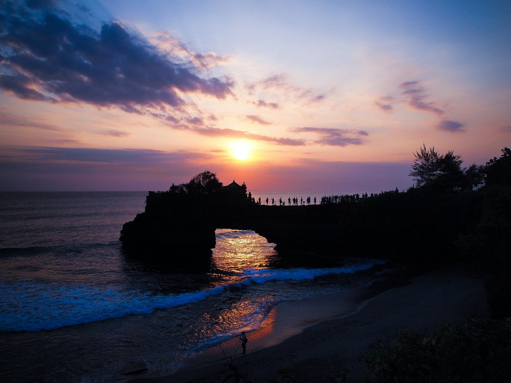 Tanah Lot, Places to Watch Sunsets in Bali