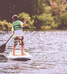 Standup paddleboarding