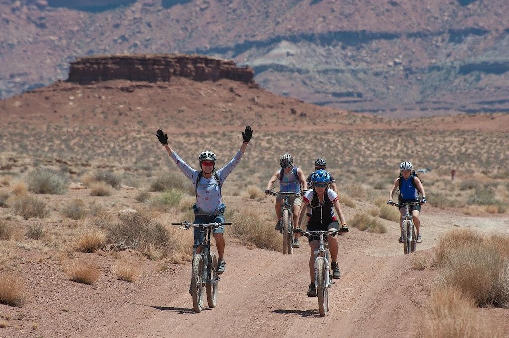 Biking at the Grand Canyon