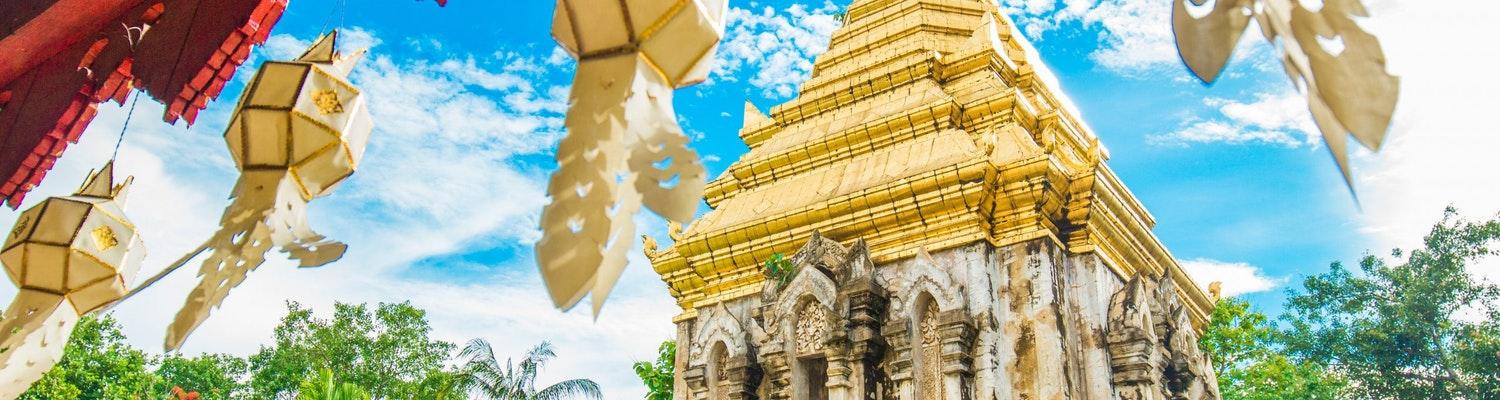 A click of a temple in Chiang Mai