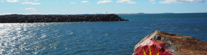 Beach at Port Macquarie, NSW