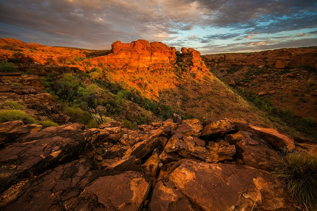 Sunset at the Canyon.