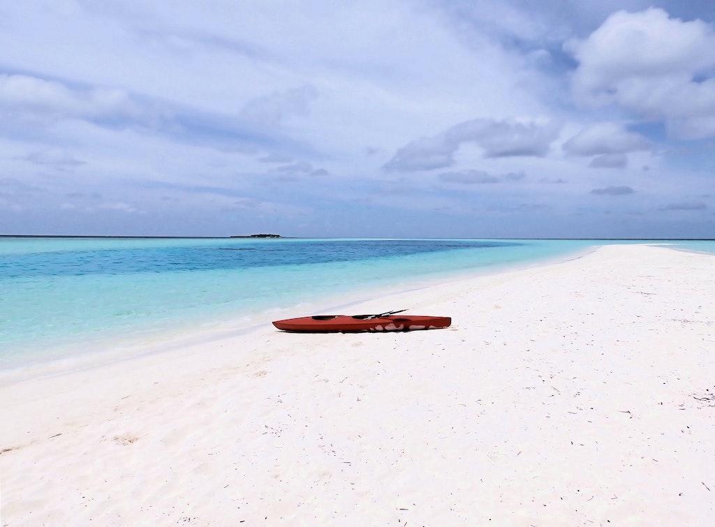 Picnic island beach