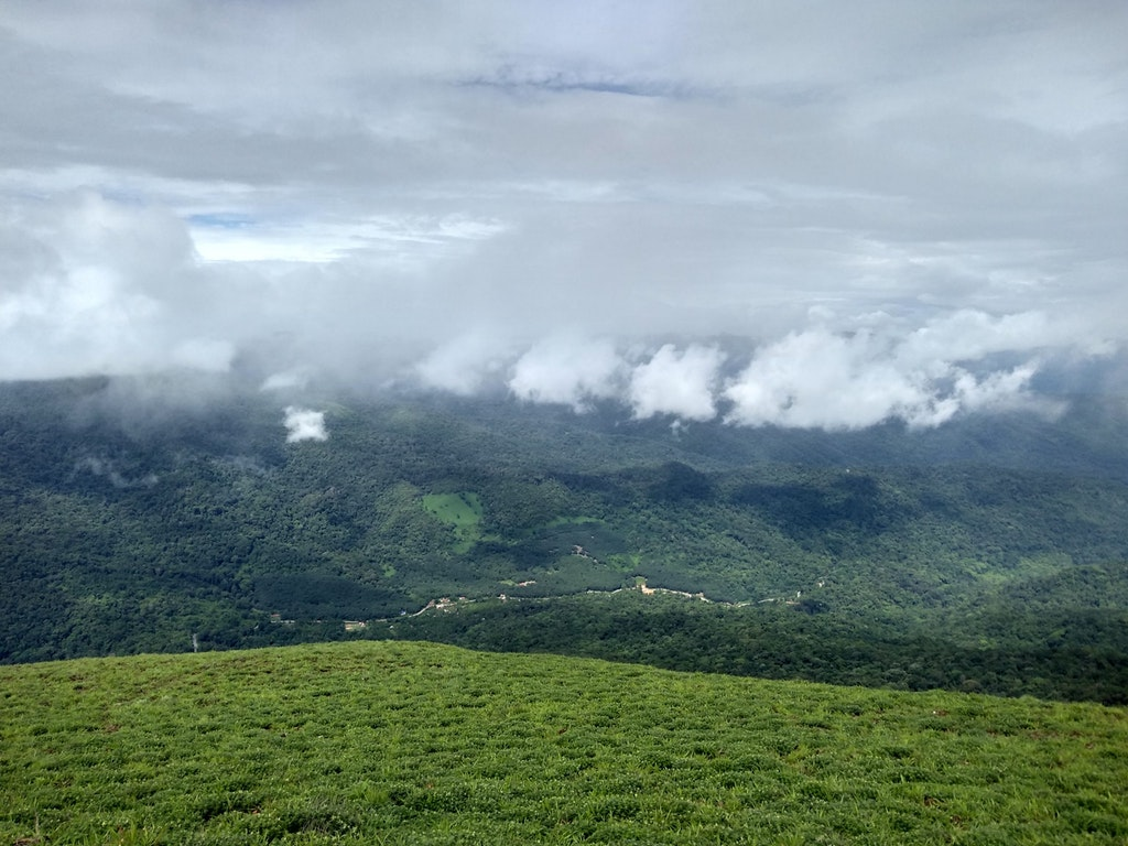 The beautiful landscapes of Coorg.