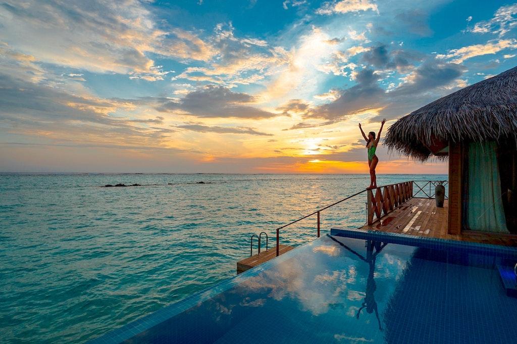 Bikini Beach, Dhangethi, Maldives