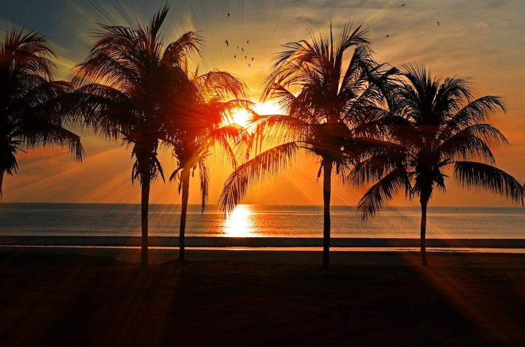 Mahe Island Sunset