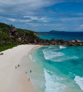 Grand Anse beach, Grand Anse, Seychelles