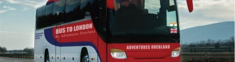Delhi to London bus journey