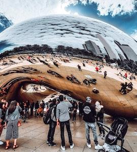 People around Chicago Bean