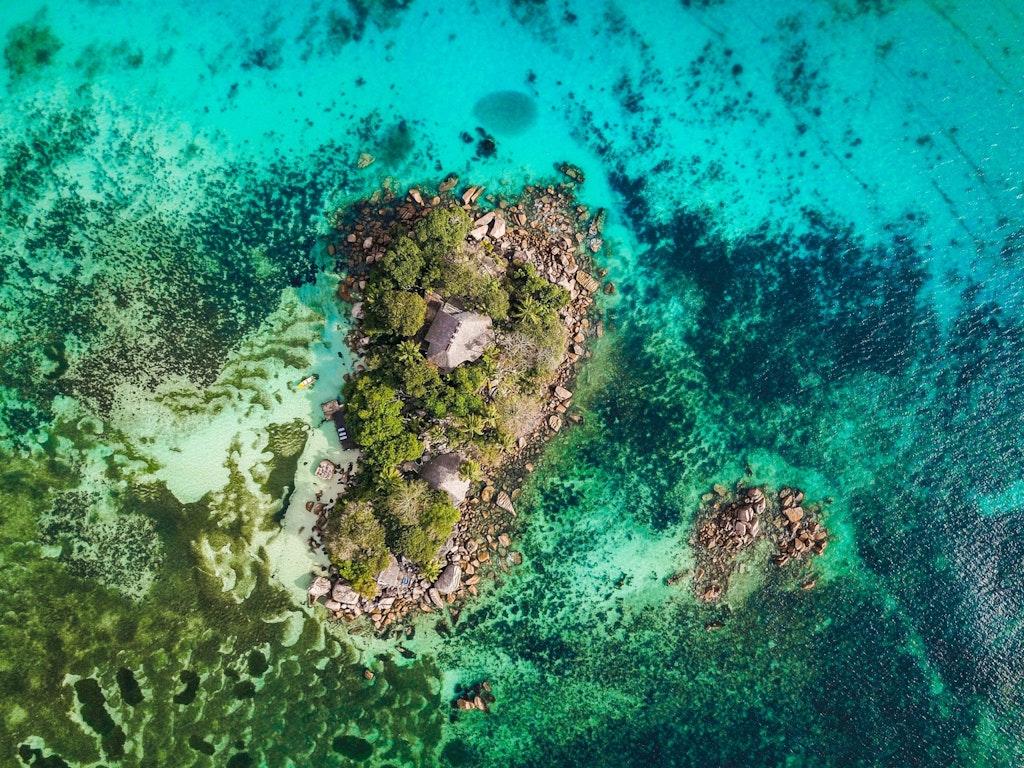The beautiful Seychelles Island