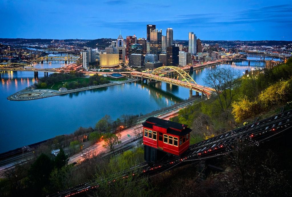 Duquense Incline Vertical, Pittsburgh, Pennsylvania