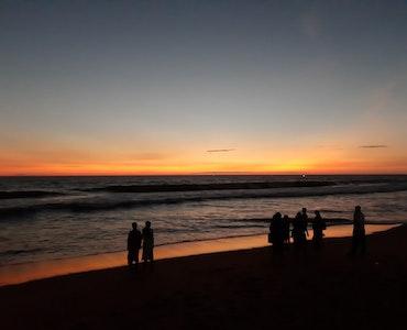 Marari beach in Kerala