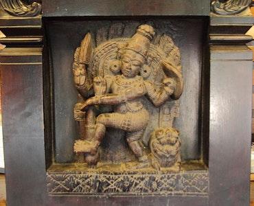 Statue in Kerala folklore museum