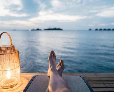 camping in Maldives