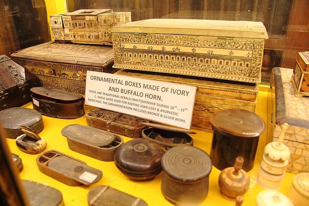 ancient boxes