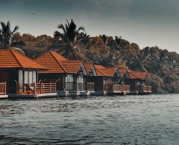 Backwater resorts in Kerala