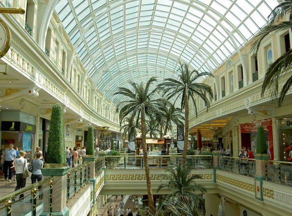 Ceiling view in Trafford Centre