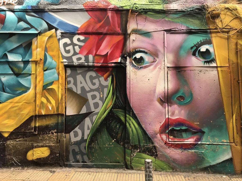 Street Art Walking Tour in Athens