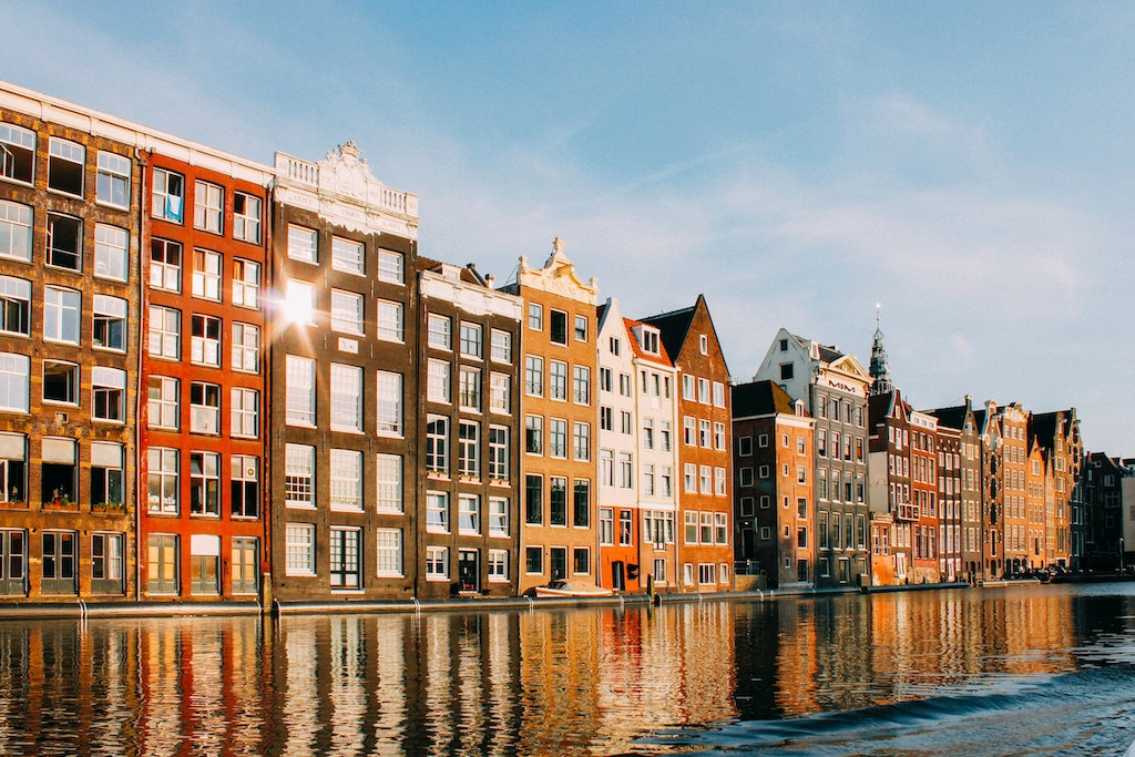 Amsterdam, top destinations in Europe in April