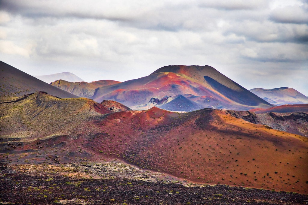 Lanzarote, top destinations in Europe in April