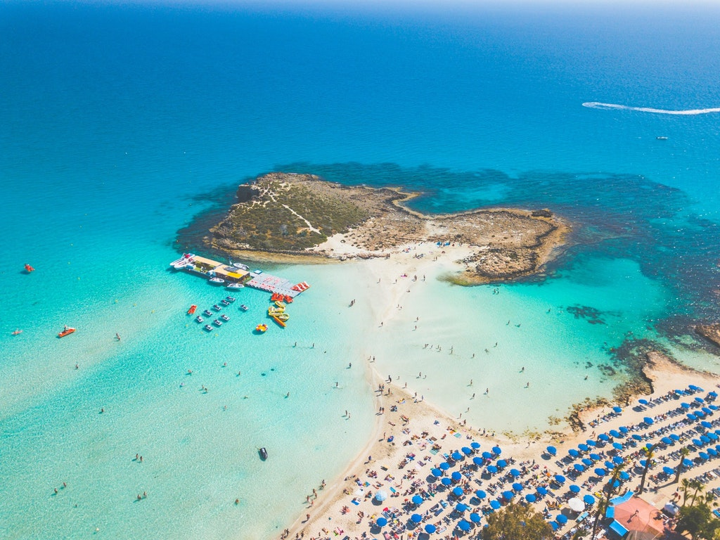 Cyprus, top destinations in Europe in April