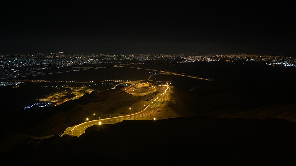The view from Jebel Hafeet