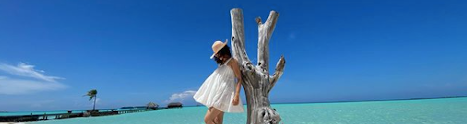 taapsee pannu in Maldives