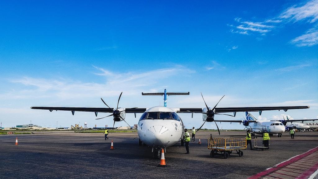 Flight to reach Maldives from Chennai