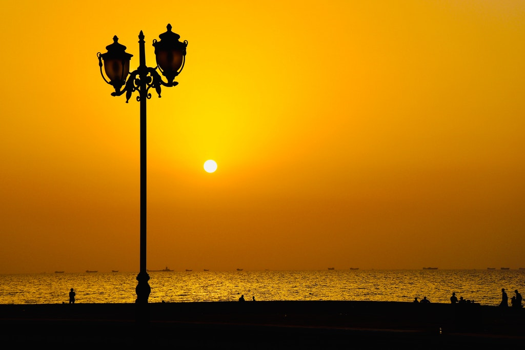 Sunrise in Ajman