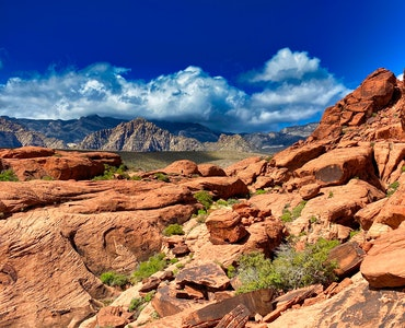 Red Canyon near Las Vegas