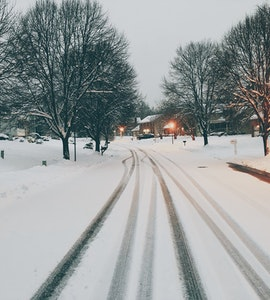 Snow in Maryland
