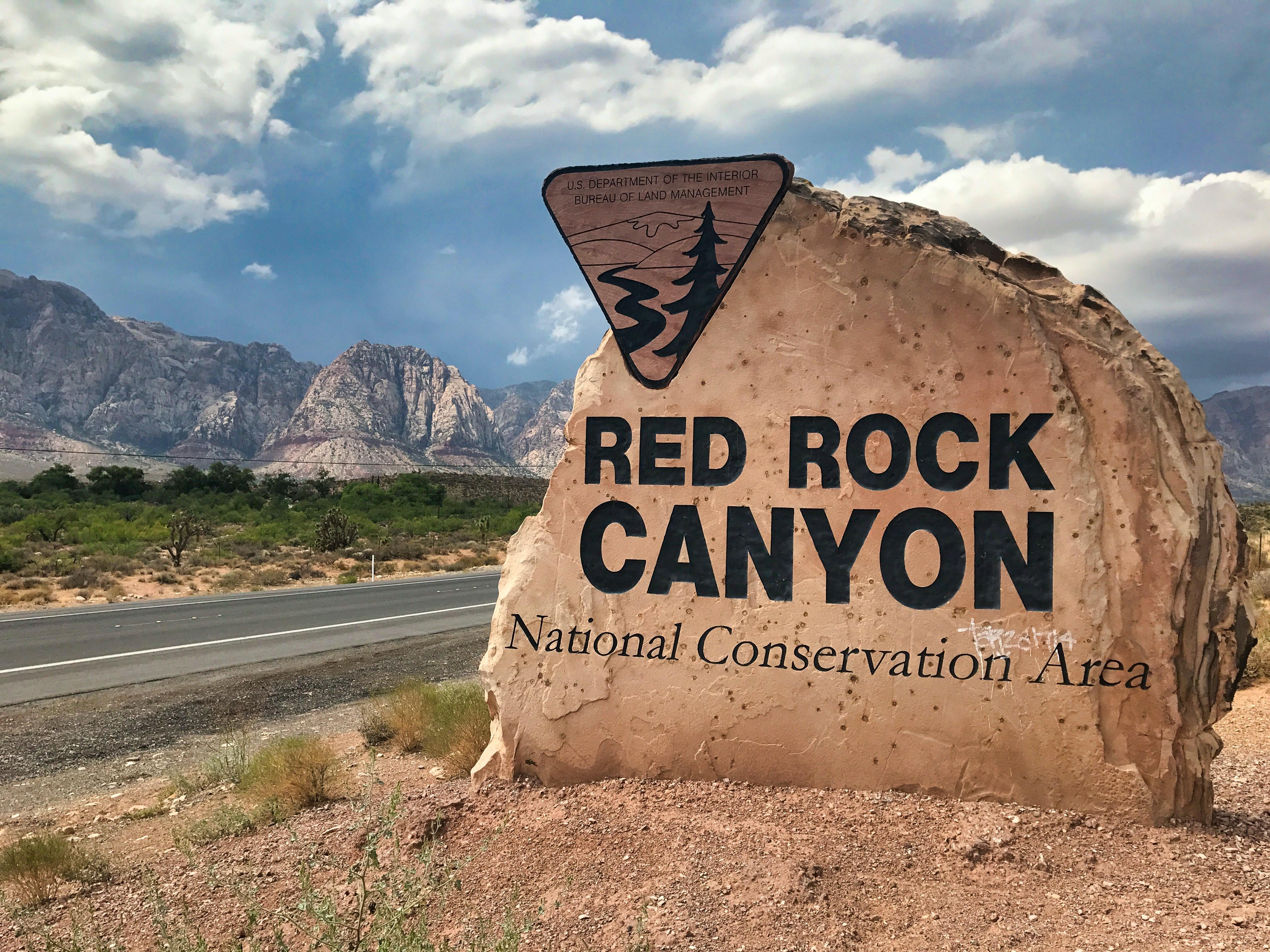 Red Rock Canyon, near Las Vegas