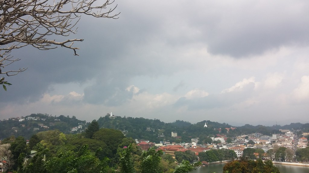 Kandy view point, also known as Arthur's Seat