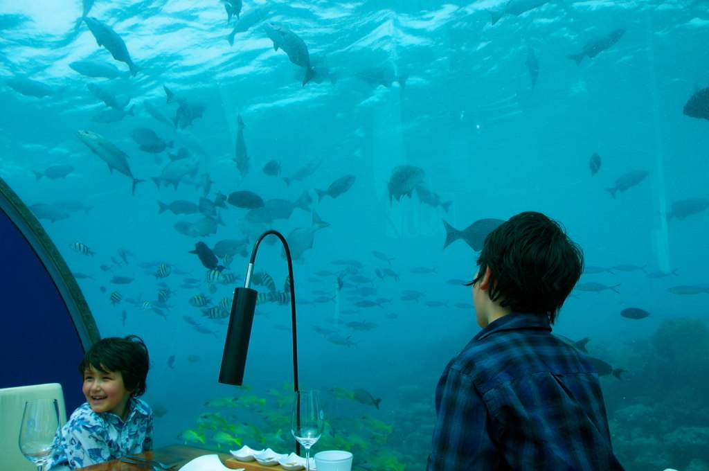 ITHAA UNDERSEA SEAFOOD RESTAURANT IN THE MALDIVES