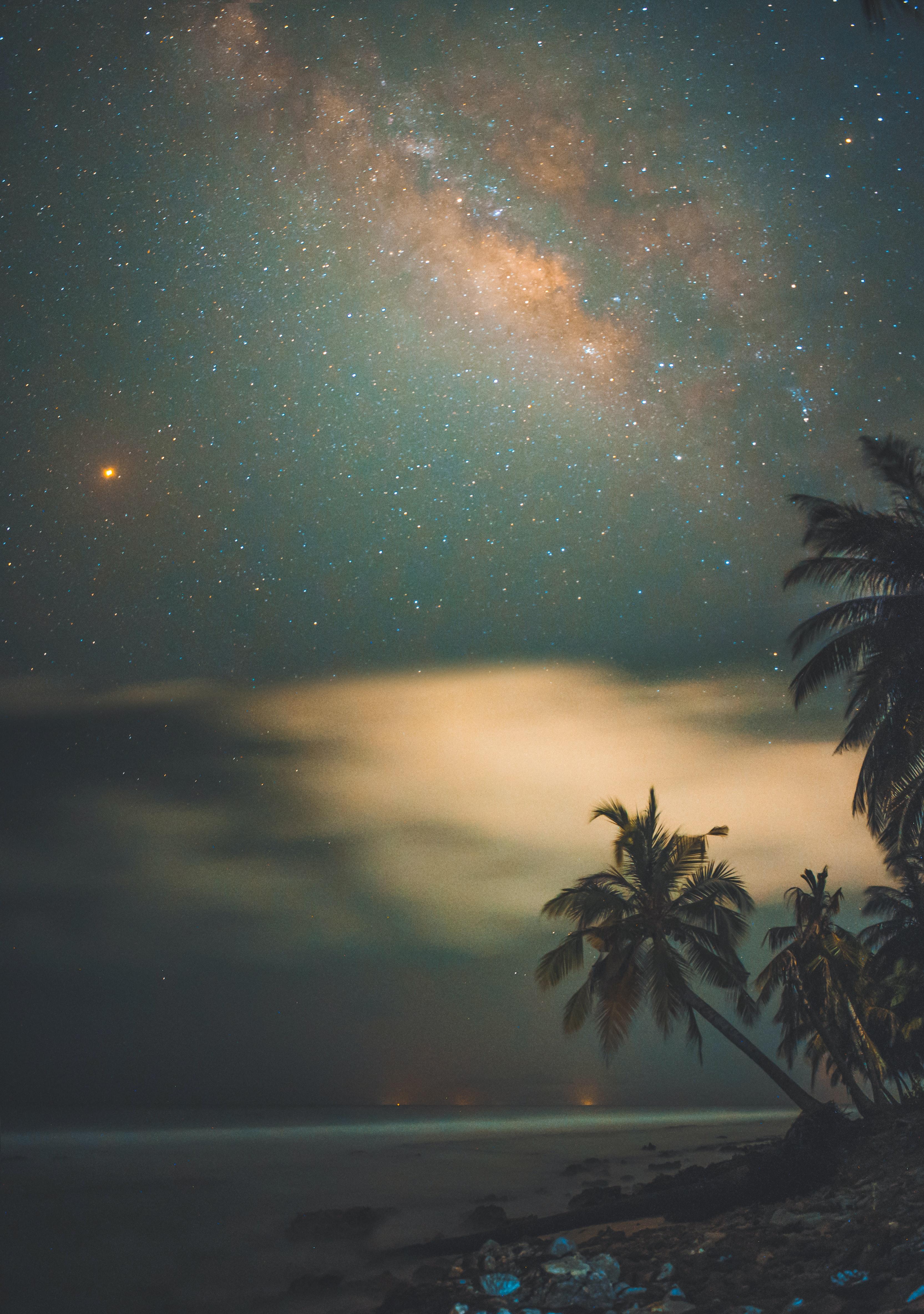 A romantic night at the Maldives