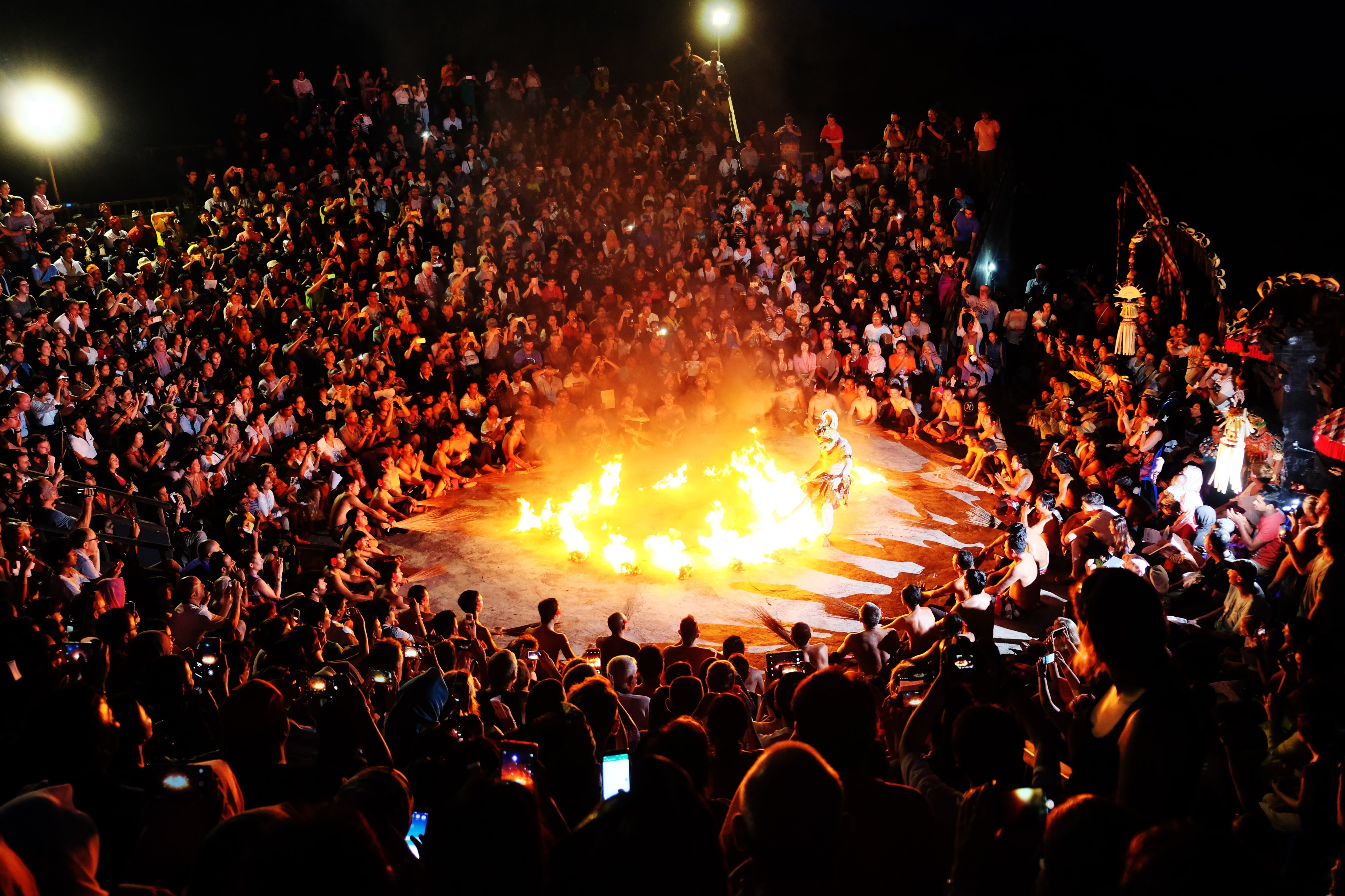 Kecak Fire Show