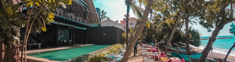 A resort in Sri Lanka