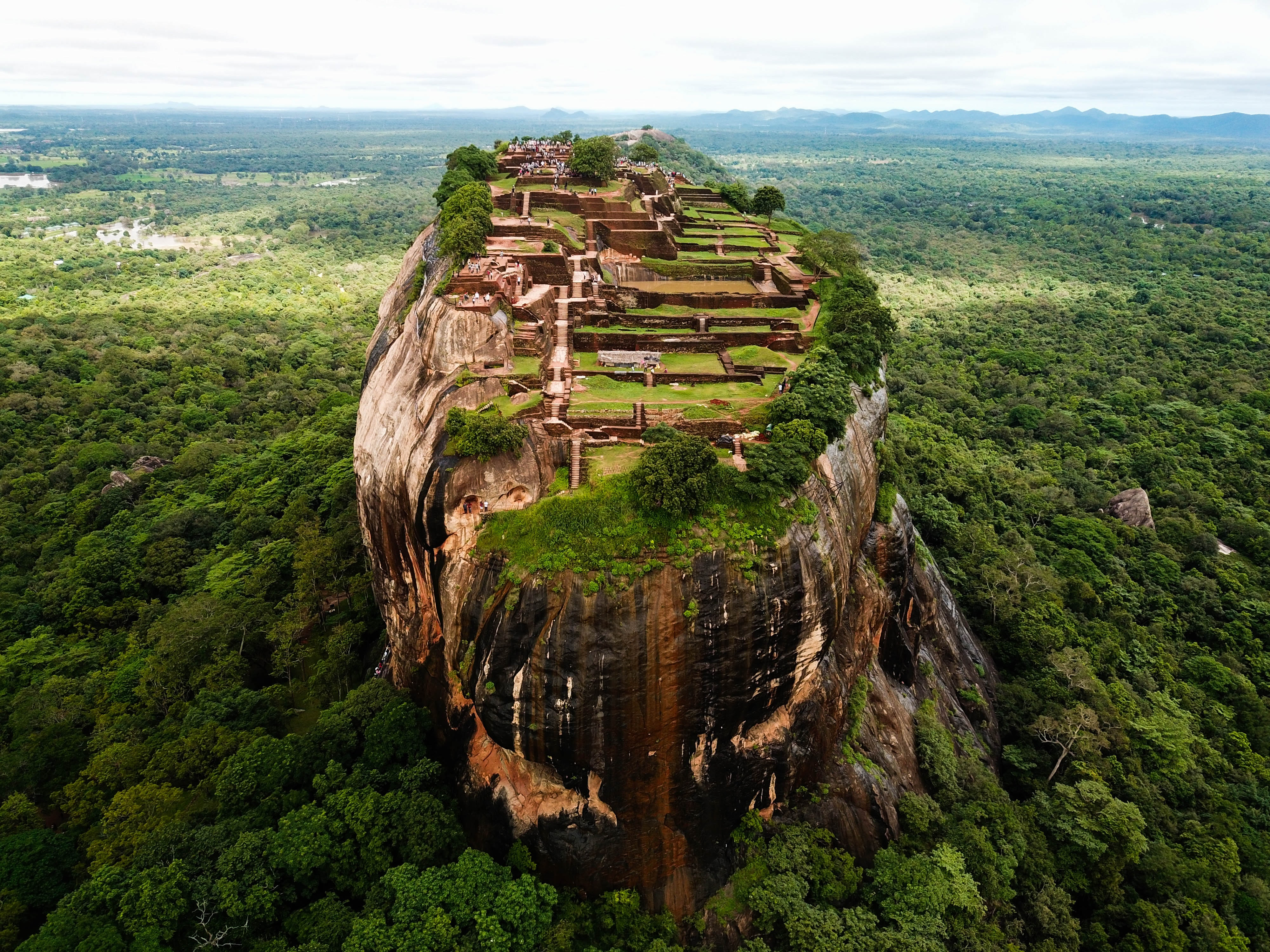 Sigiriya Rock Fortress, one of the best places to visit in Sri Lanka