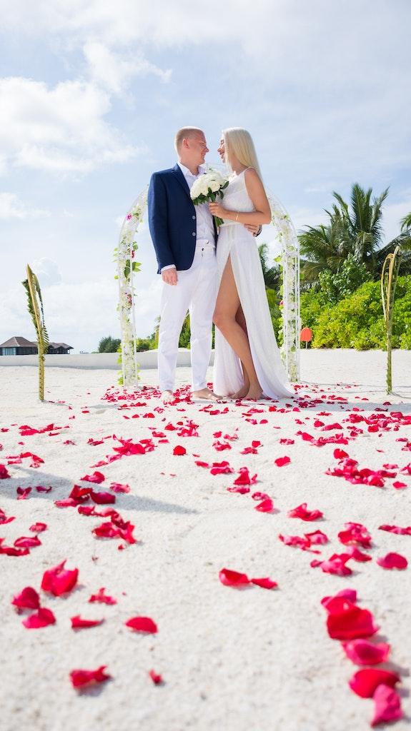 Wedding at Maldives