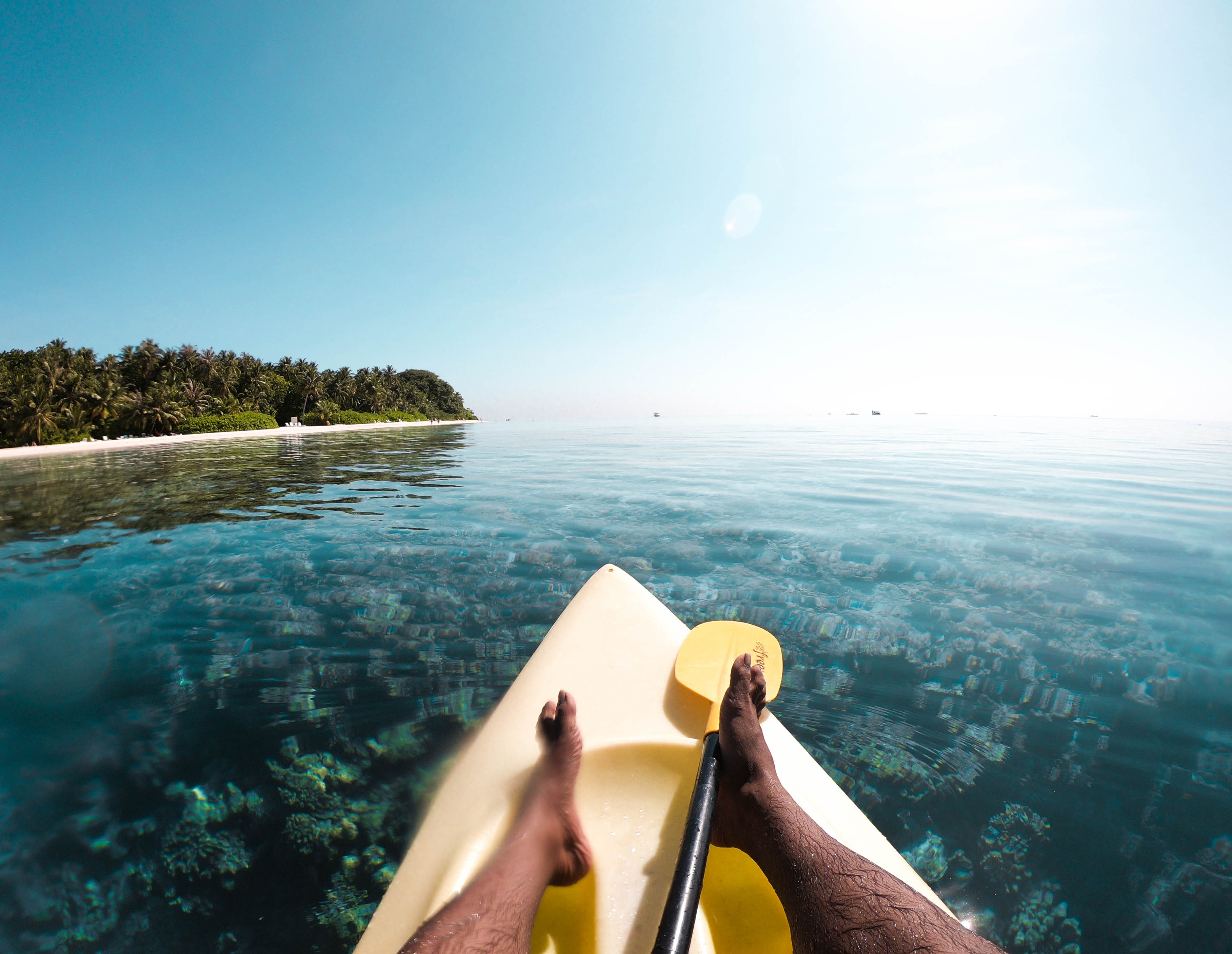 Watersports at Maldives, one of the best things to do on Maldives