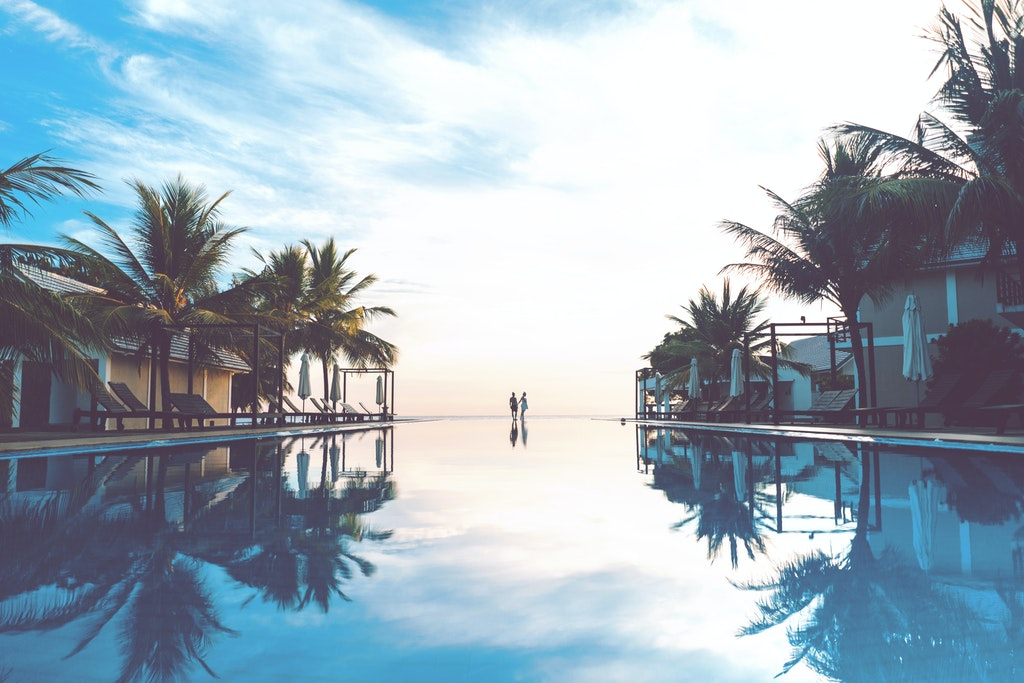 A pool in Sri Lanka
