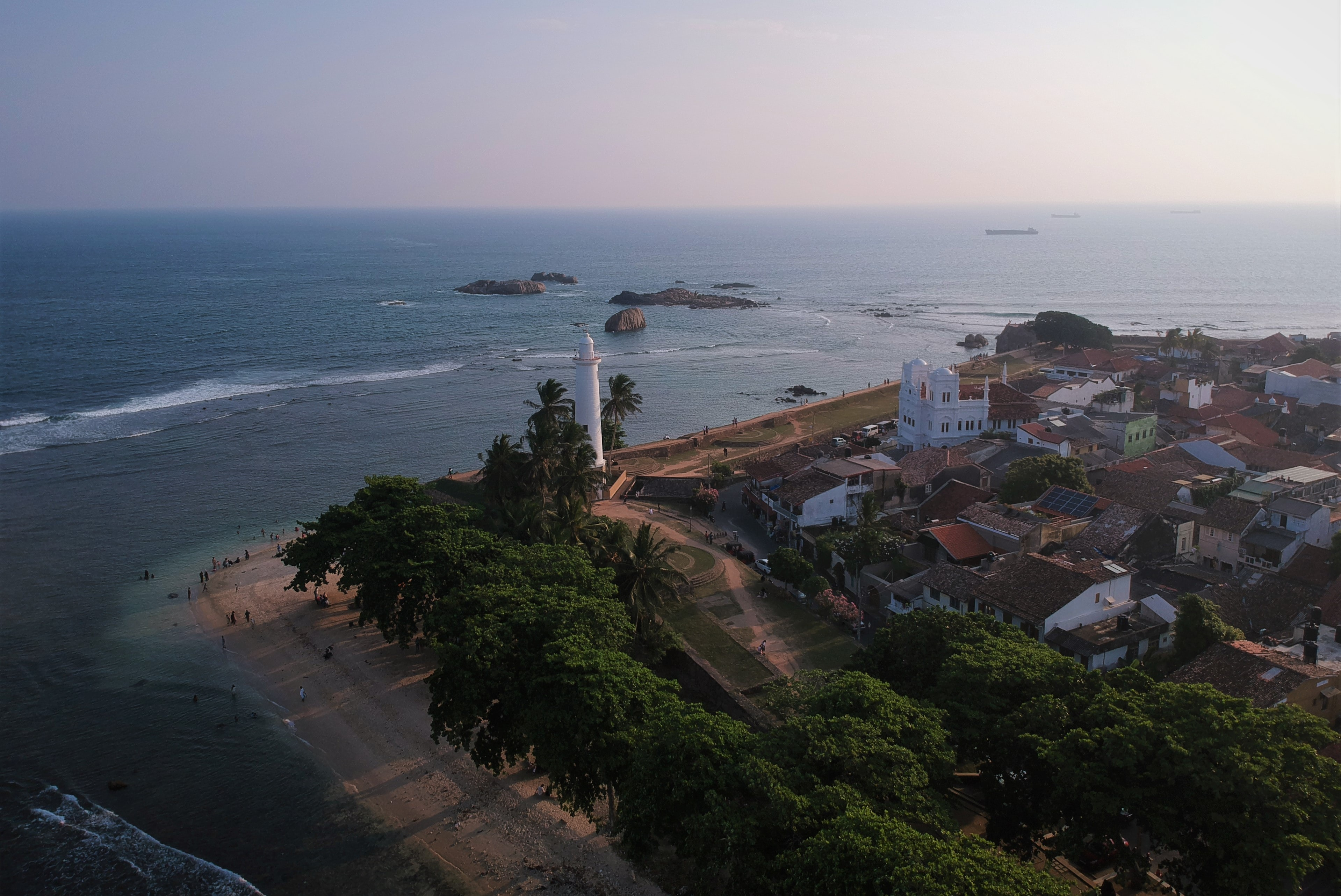 Galle, one of the most beautiful cities in Sri Lanka