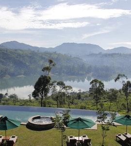Sri lankan resort