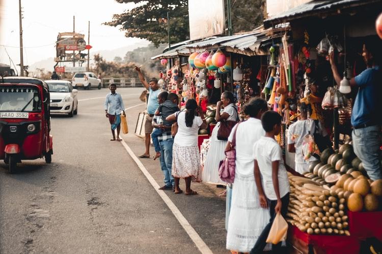 Sri Lankan market